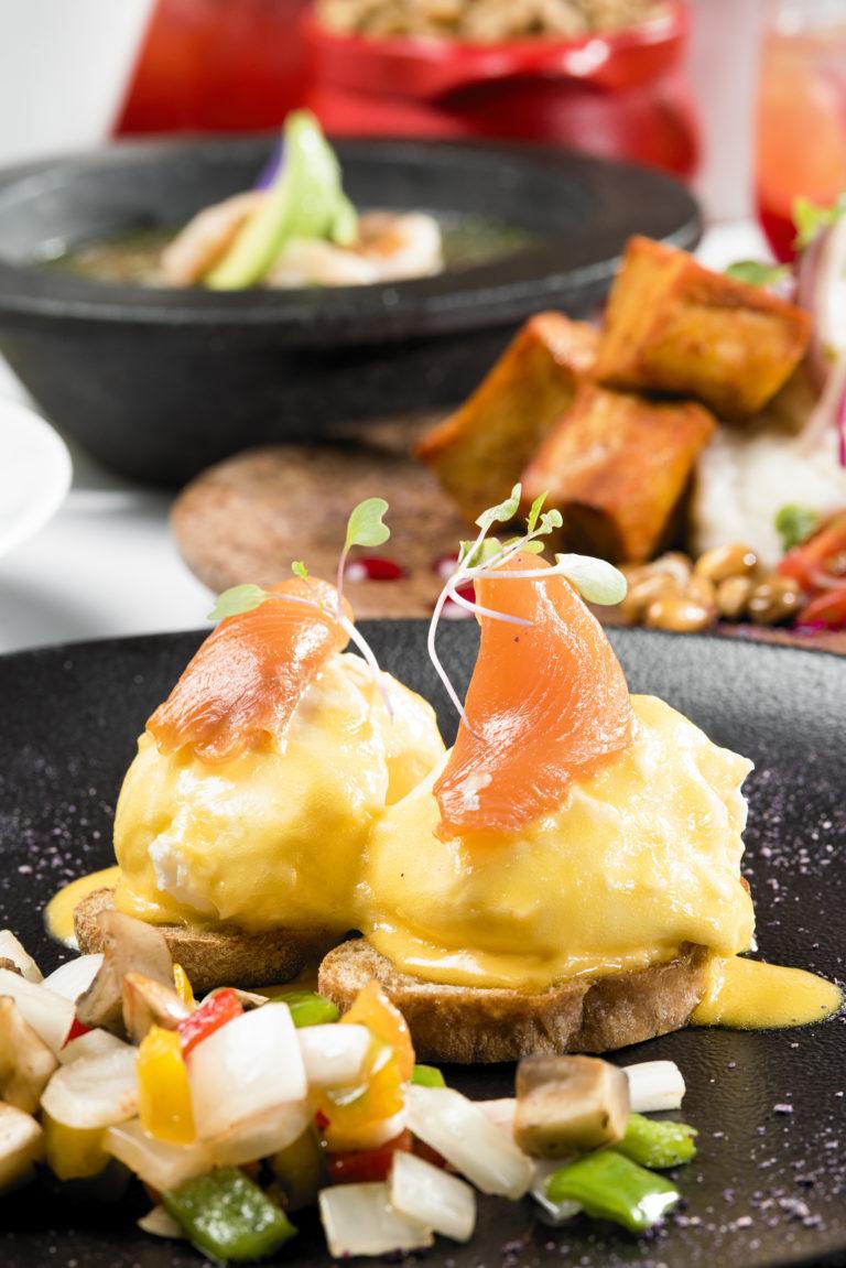 Sunday Brunch with Eggs Benedict at Casa Gangotena