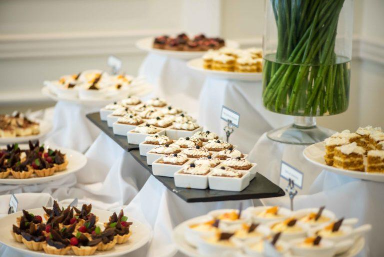 Brunch Desserts at Casa Gangotena