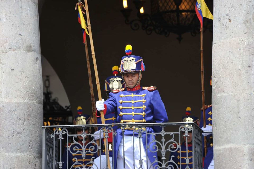 La ceremonia del cambio de guardia