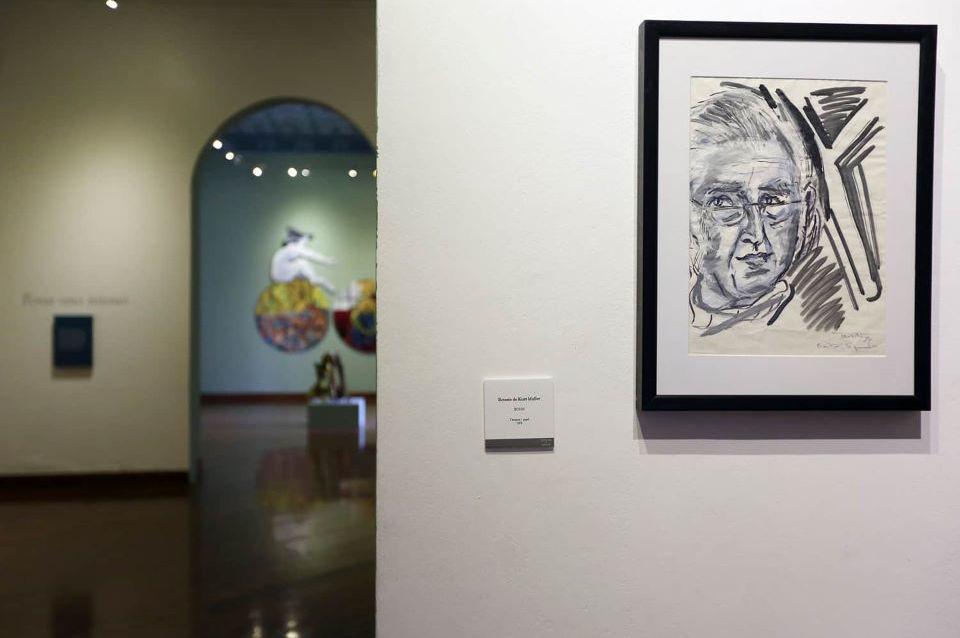 Exposiciones en el Centro Cultural Metropolitano en el Centro Histórico de Quito.