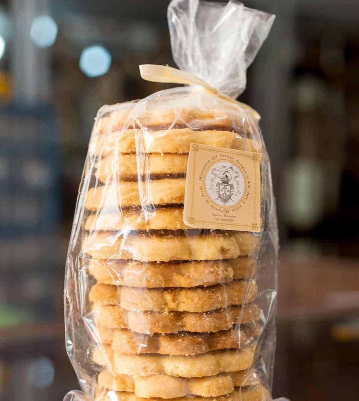 Las galletas del Centro de Quito.