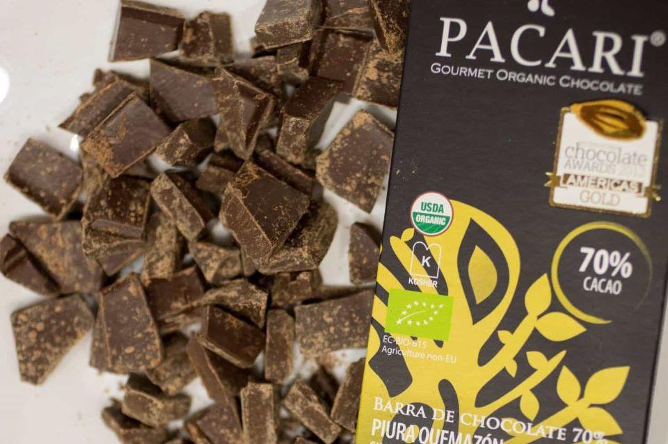 Chocolate Ecuatoriano Pacari.