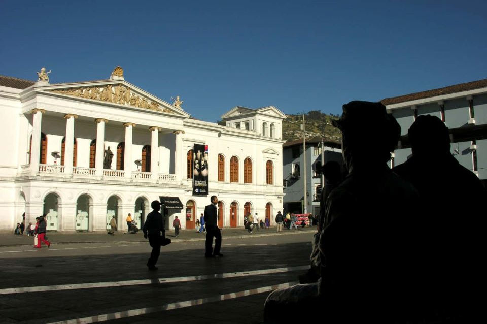 Sucre Theater in Quito's old town.