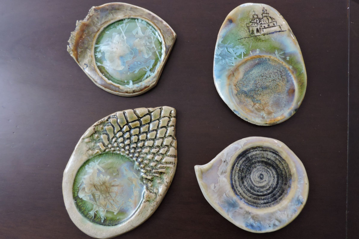 Ceramic plates from Quito