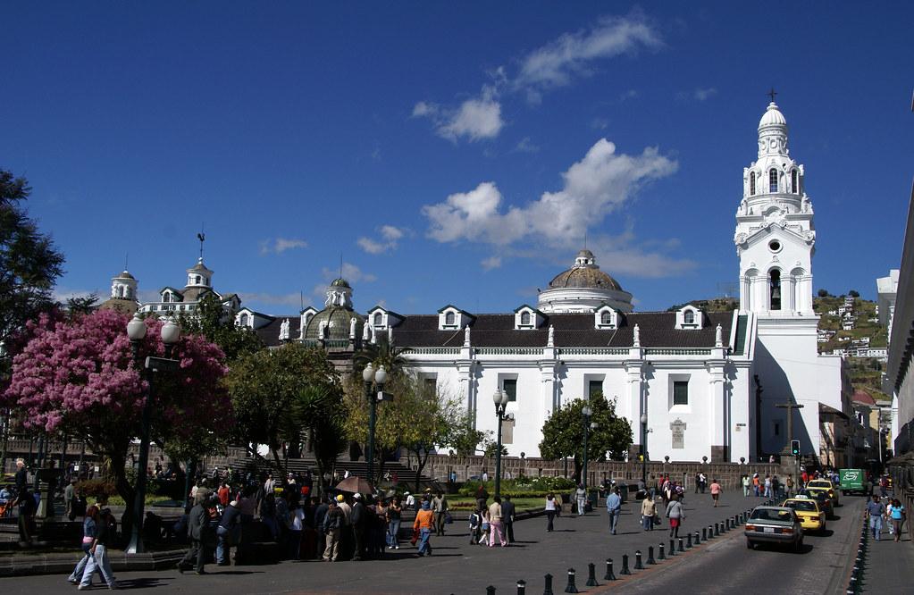Metropolitan Cathedral in Quito, Ecuador