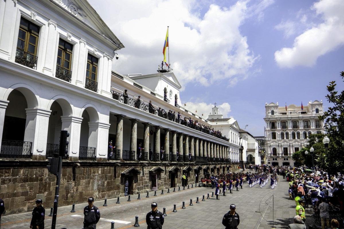 Palacio de Carondelet in Quito, Ecuador