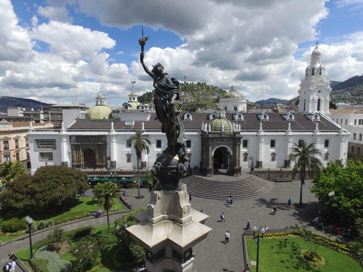 Plaza Grande in Quito