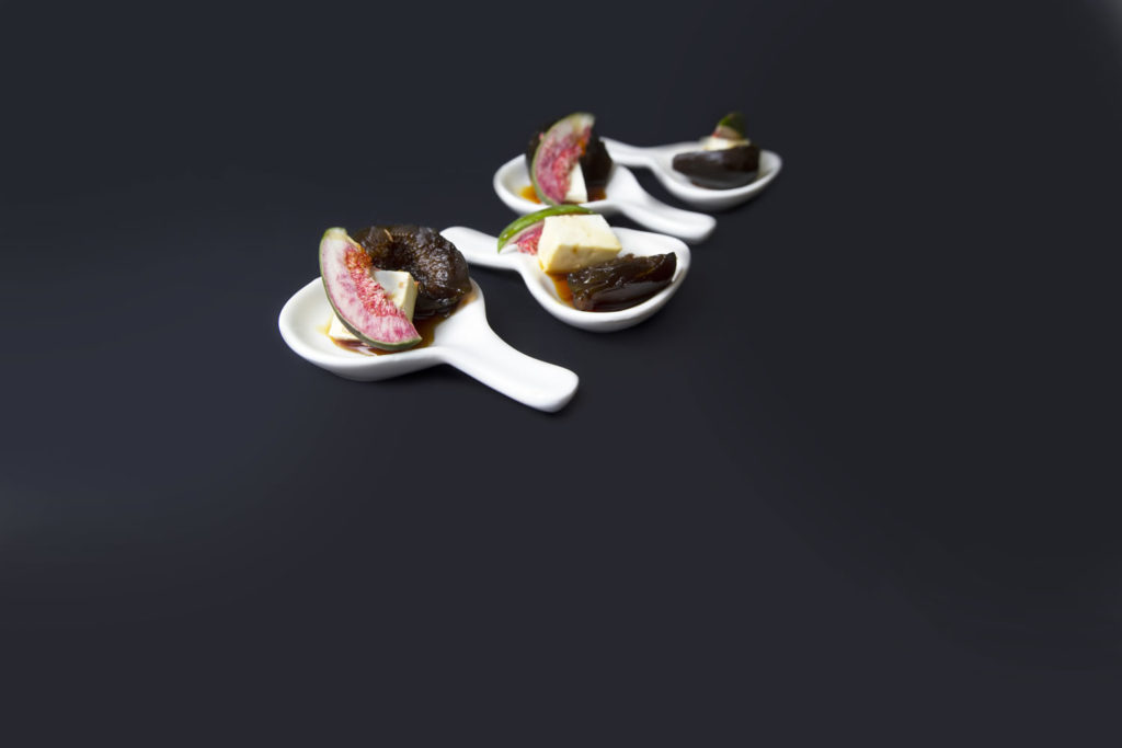 Traditional figs with cheese