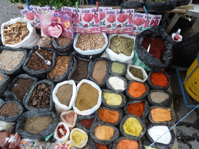 Spices from Cuenca street
