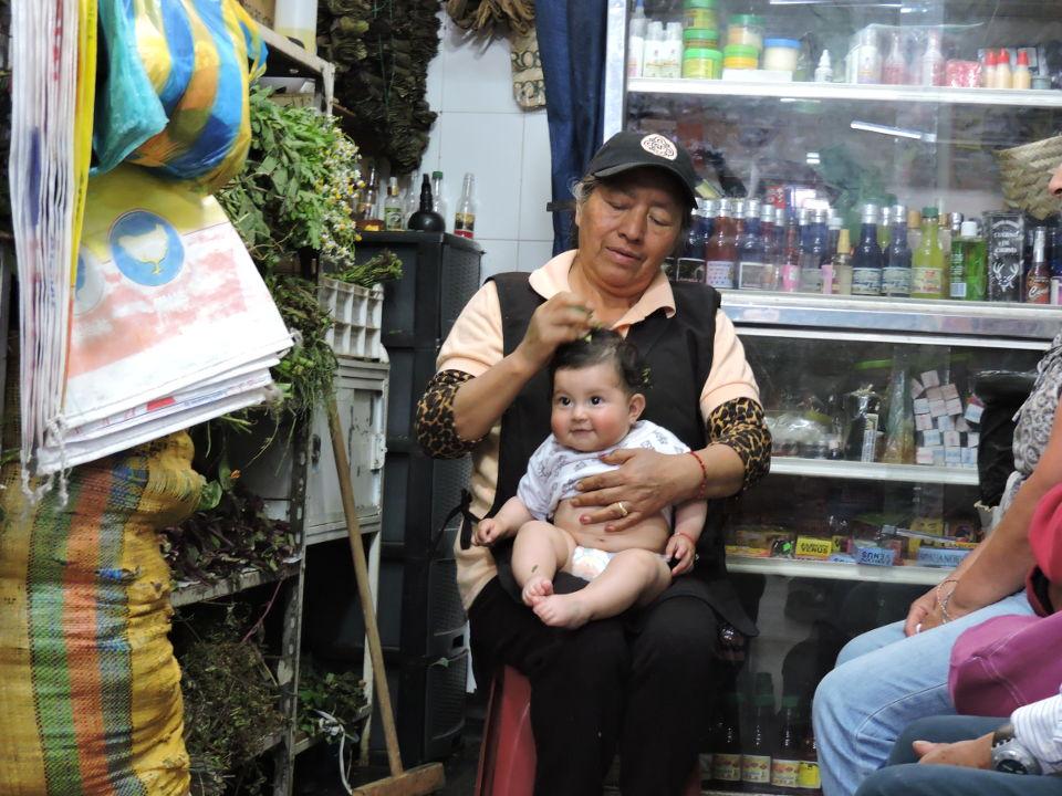 Andean herbal cleansing