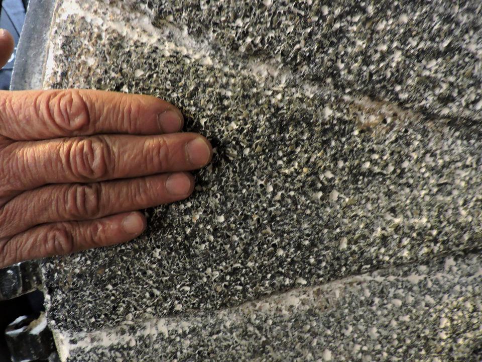 Slab stone from Denmark