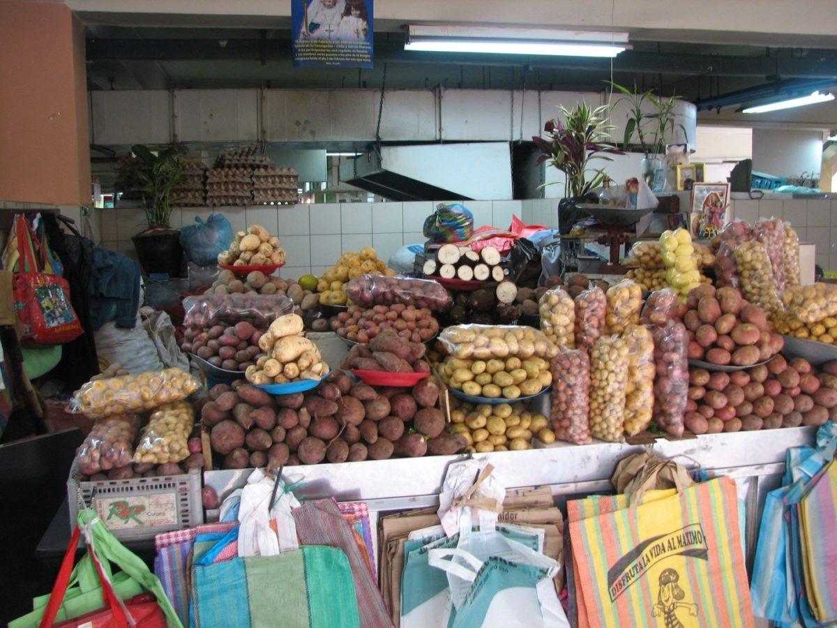 Mercado central de Quito
