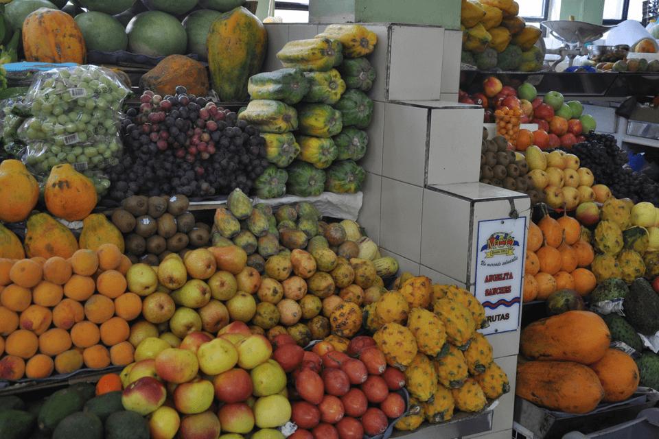 Frutas del mercado central