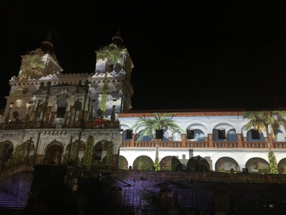 Ecuador's festival of lights