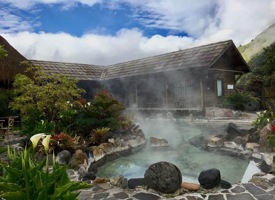 Papallacta thermal springs
