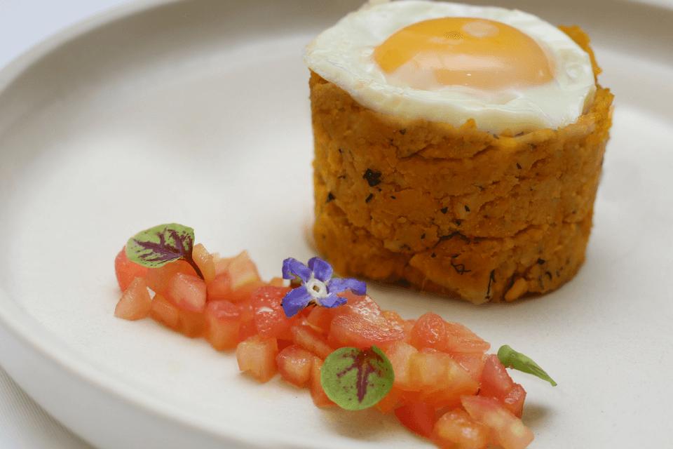 Casa Gangotena's breakfast dish