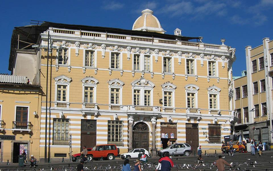 Previous exterior of Casa Gangotena