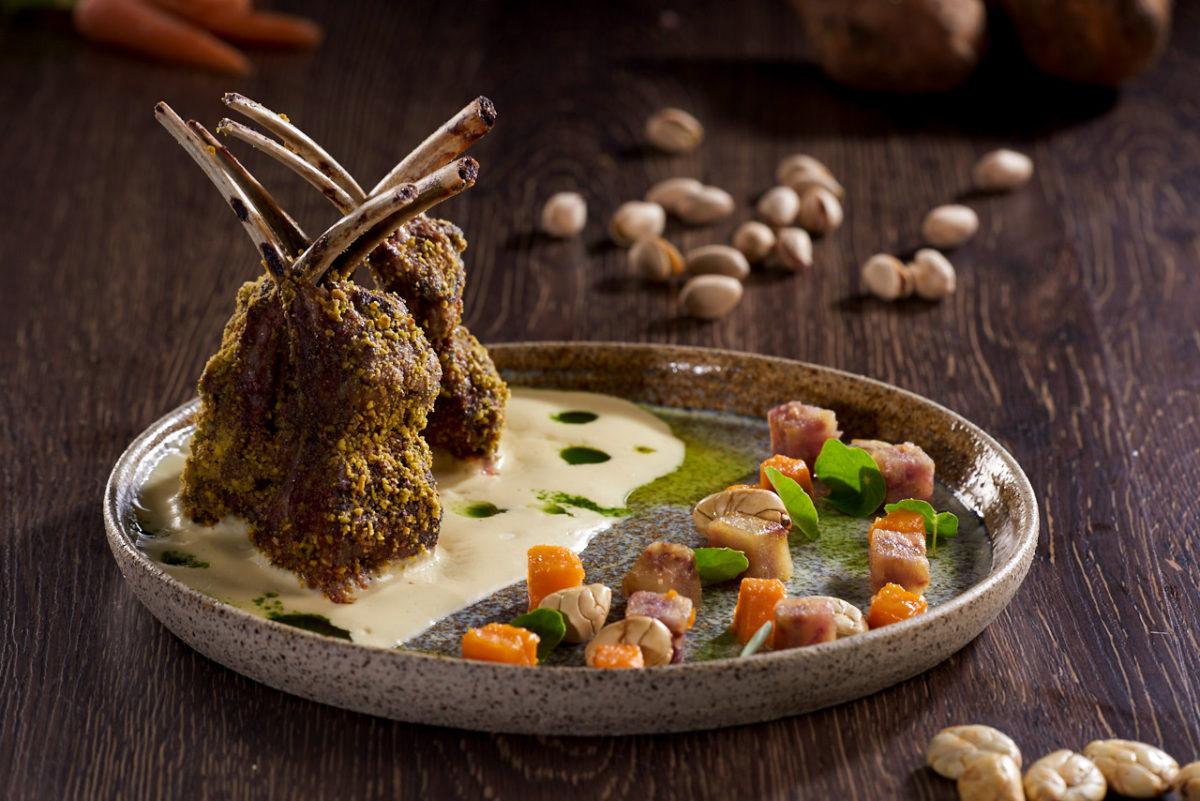 Pistachio Lamb at Casa Gangotena