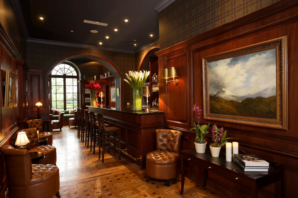 Bar and Lounge at Casa Gangotena