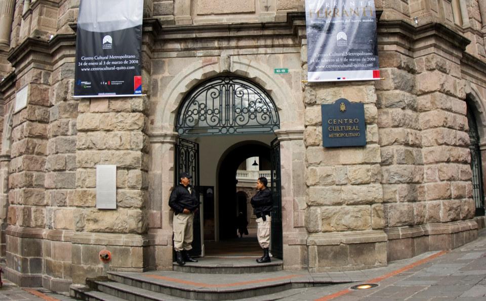 Centro Cultural Metropolitano in Quito