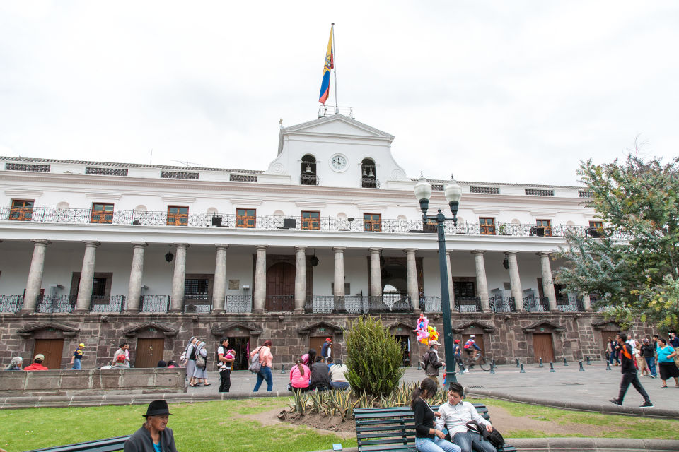 Presidential Palace in Quito