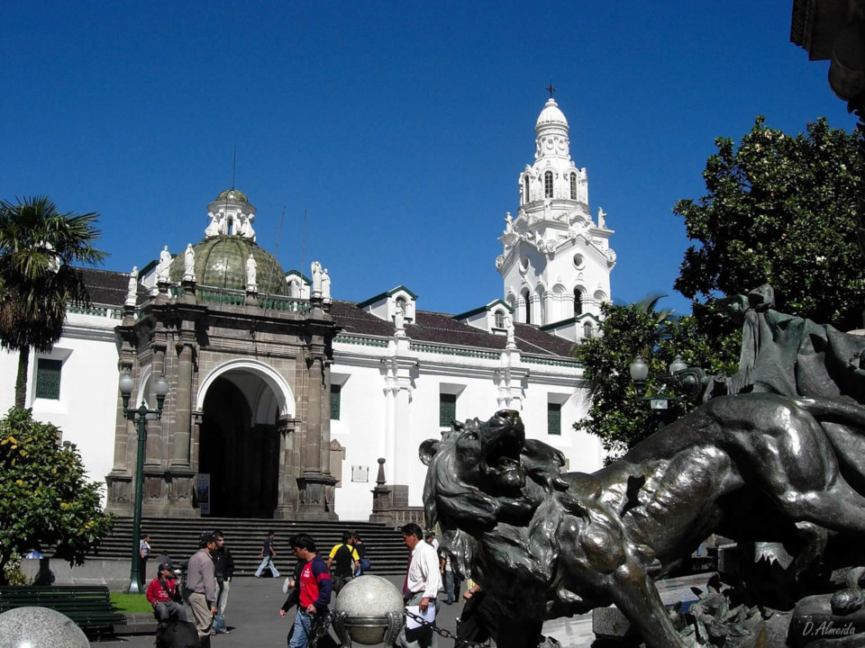 Metropolitan Cathedral in Quito
