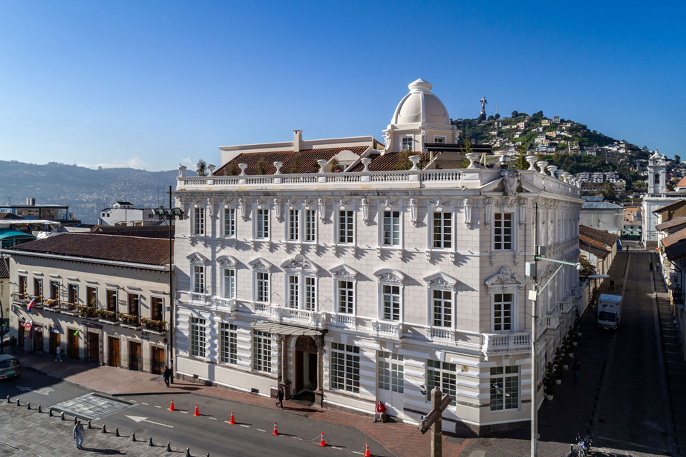 Best hotels in Quito Casa Gangotena exterior