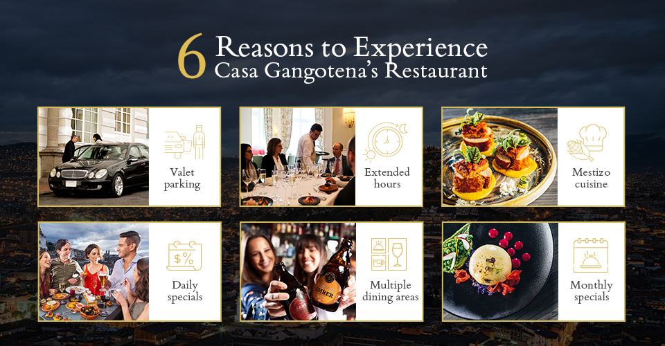 Reasons to Experience Casa Gangotena's Restaurant
