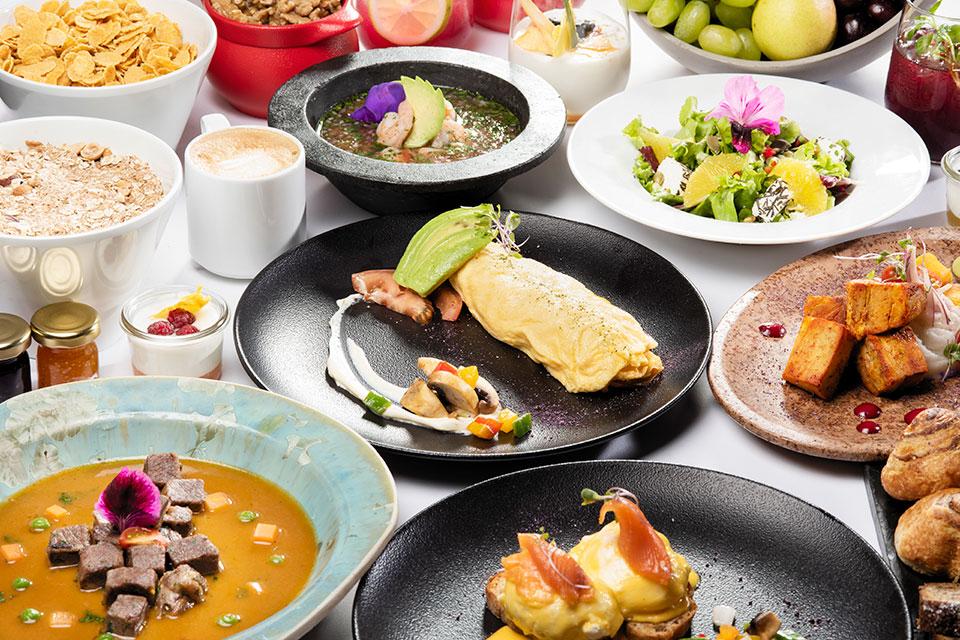Meals and Dishes at Casa Gangotena