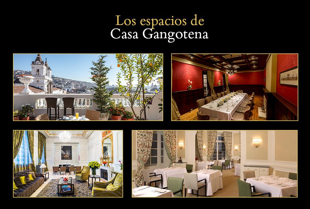 Los espacios de Casa Gangotena