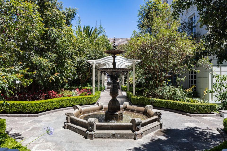 Casa Gangotena's Garden