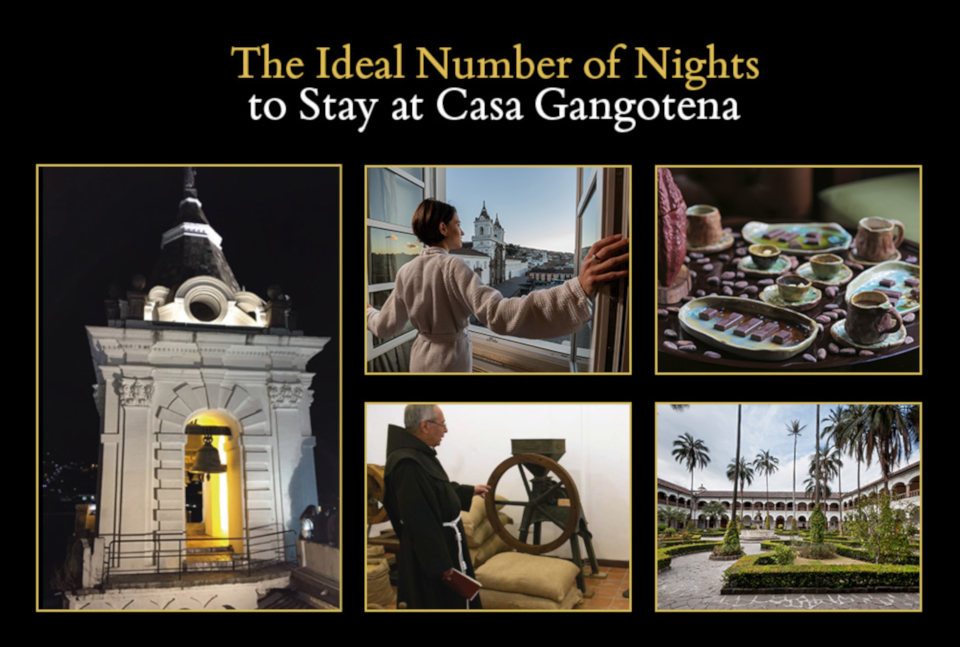 The Ideal Number of Nights to Stay at Casa Gangotena