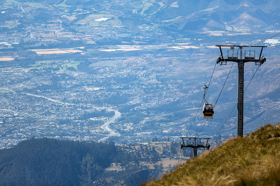 Quito's Teleferico Gondola Lift