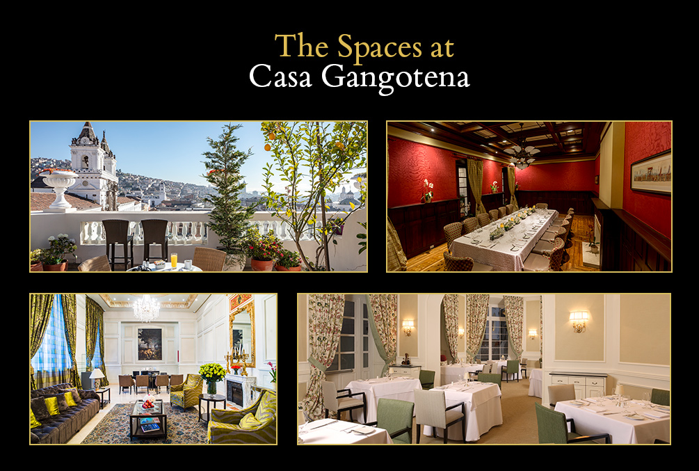 The Spaces at Casa Gangotena