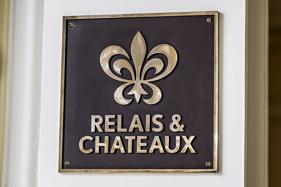 Casa Gangotena is endorsed by Relais & Châteaux.