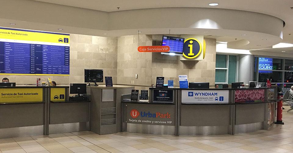 Arrivals Terminal Information Center