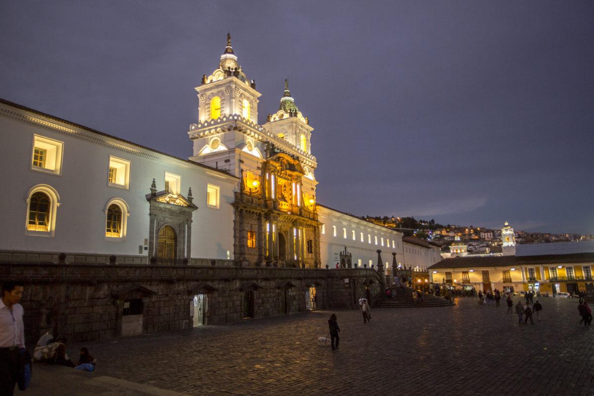 san francisco plaza evening