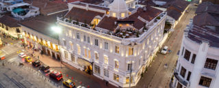 View of Hotel Boutique Casa Gangotena