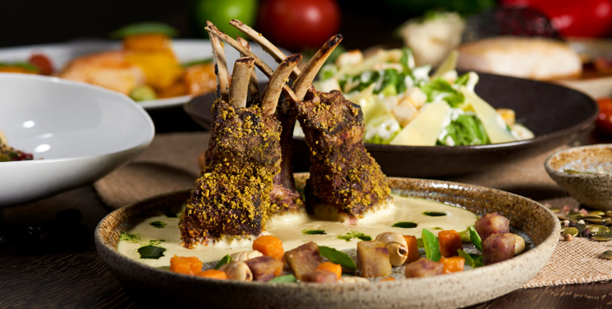 Pistachio Lamb from Casa Gangotena