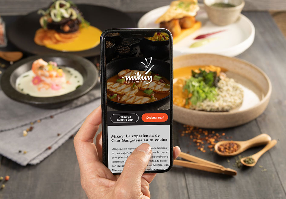 Experiencia Mikuy: platos de primera calidad en tu casa