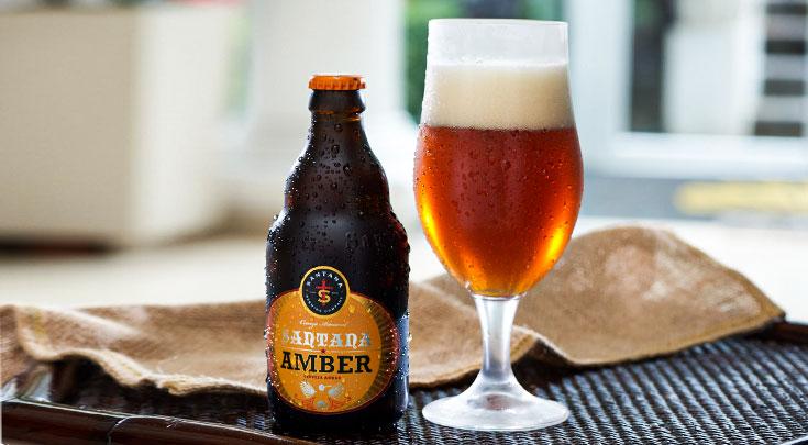 Cerveza Amber de Santana, disponible a domicilio con tu pedido Mikuy
