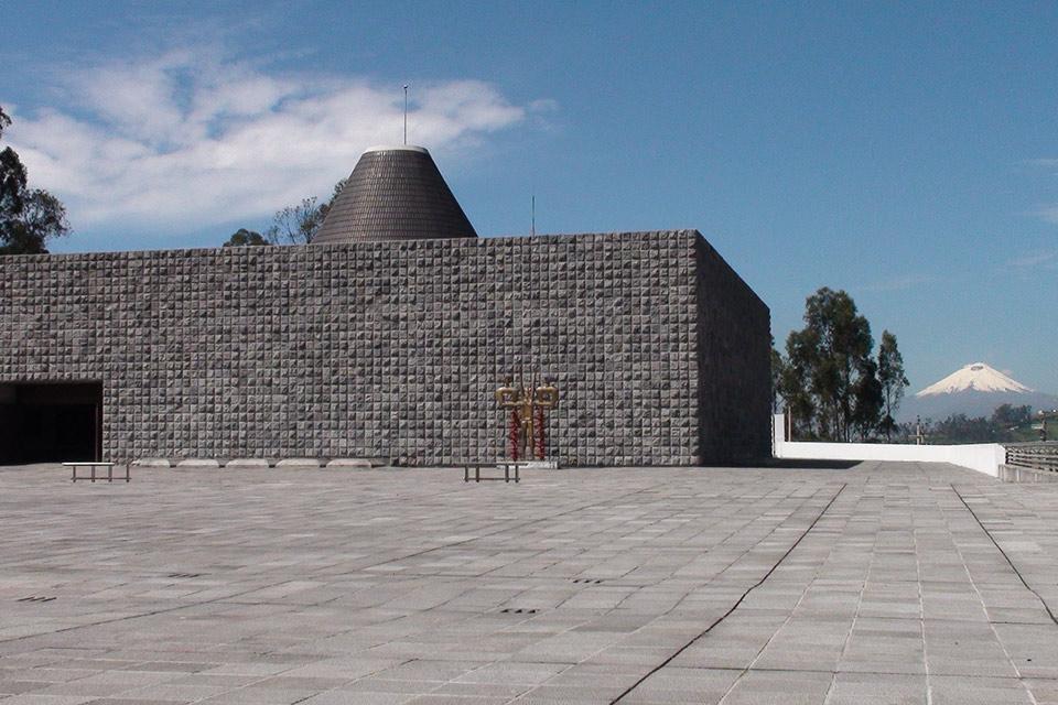 La Capilla del Hombre by Guayasamín
