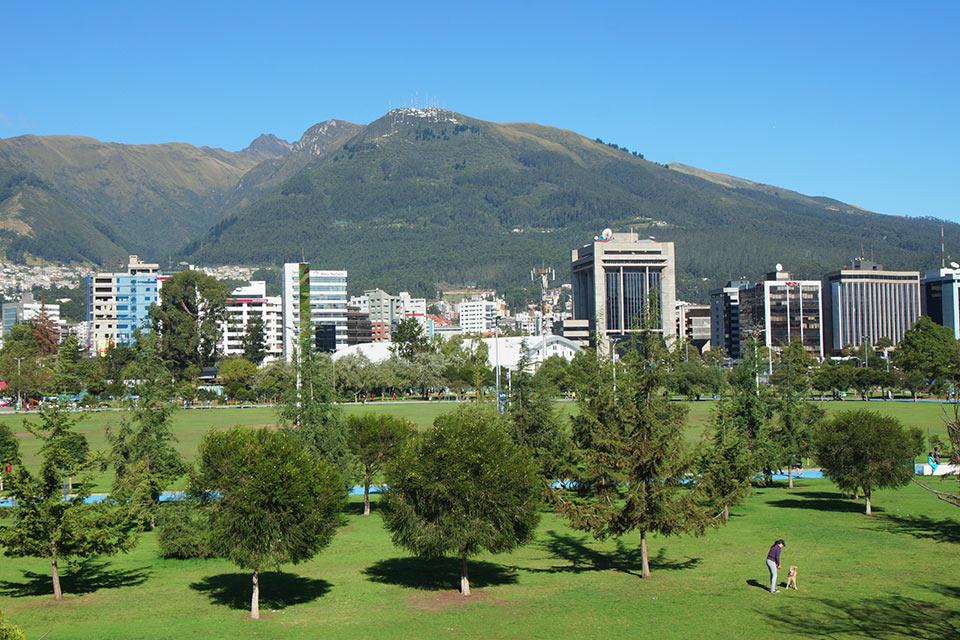 La Carolina Park in Quito