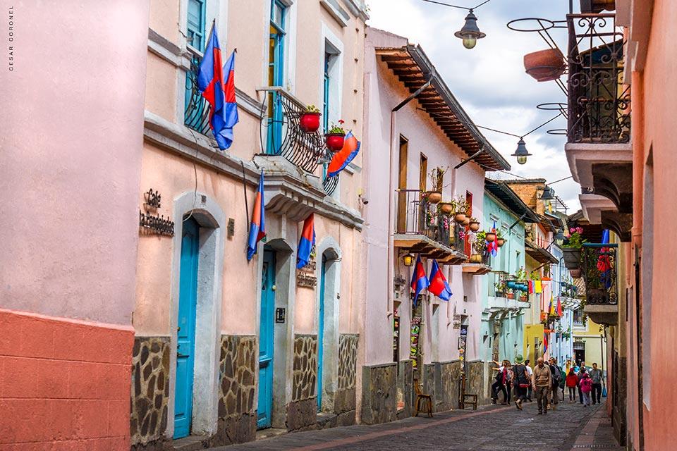 La Ronda in Quito's Historic Center