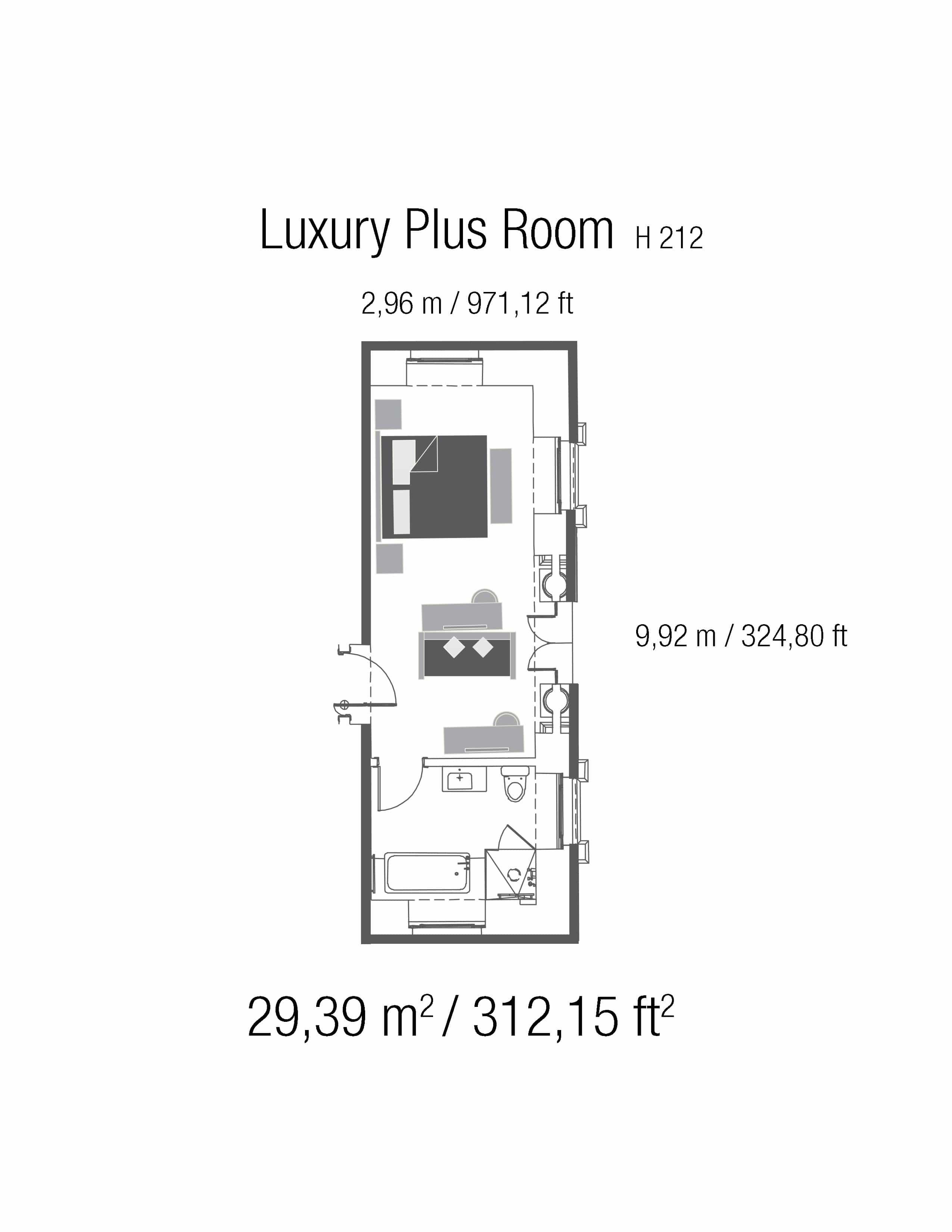 Luxury plus casa gangotena for Floor plan plus