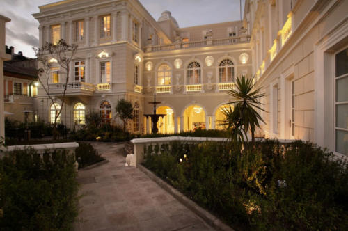 Casa Gangotena Courtyard